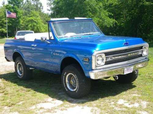 1970 Chevy K5 Blazer 350 V8 Auto For Sale In Whitakers