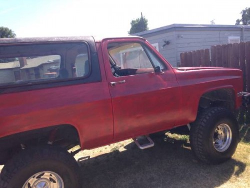 1978 Chevy K5 Blazer 454 Manual For Sale in Merced ...