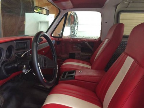 1986 chevy k5 blazer v8 auto for sale in raleigh north carolina 3 800. Black Bedroom Furniture Sets. Home Design Ideas