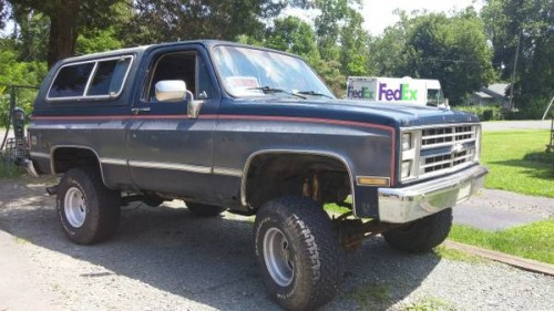 1987 chevy k5 blazer auto for sale in crozet virginia 1 800. Black Bedroom Furniture Sets. Home Design Ideas