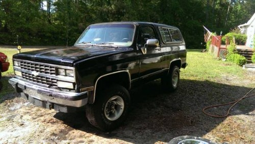 1991 Chevy K5 Blazer Project For Sale in Lake City ...