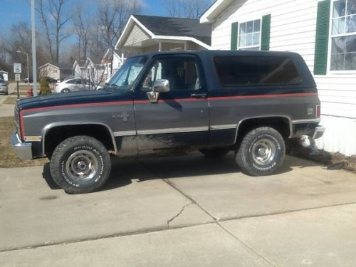 1985 chevy k5 blazer 350 auto for sale in dundee michigan 2 500. Black Bedroom Furniture Sets. Home Design Ideas