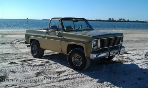 1975 Chevy K5 Blazer Automatic For Sale in Tampa, Florida ...