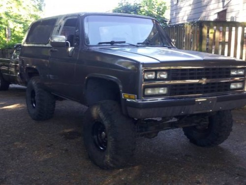 1979 chevy k5 blazer 350 auto for sale in langley city. Black Bedroom Furniture Sets. Home Design Ideas
