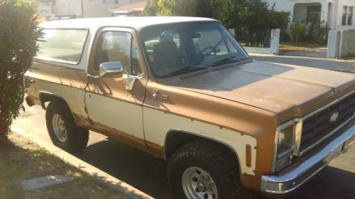 1979 Chevy K5 Blazer Automatic For Sale in Los Angeles ...