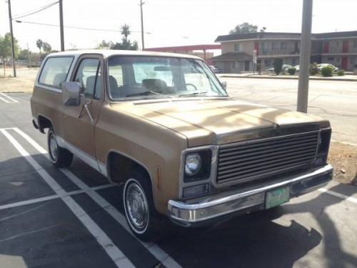 1979 Chevy K5 Blazer 350 Auto For Sale in Ontario ...