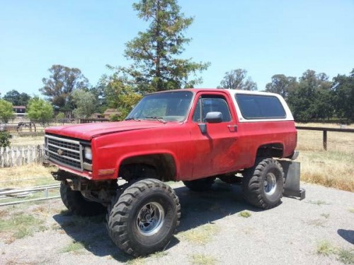 1989 chevy k5 blazer 5 7 v8 auto for sale in reno nevada 3 500. Black Bedroom Furniture Sets. Home Design Ideas