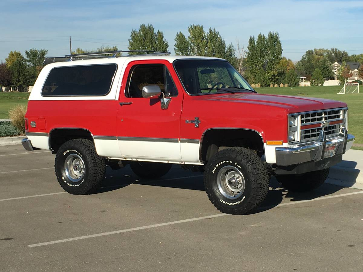 1986 Chevy K5 Blazer 5 0L V8 Auto For Sale in Boise, Idaho
